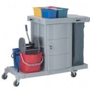 "Janitor Cart ""INNO"" with Door"